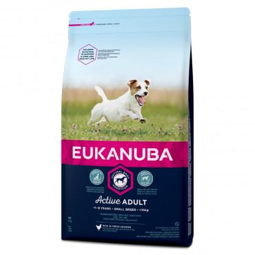 Eukanuba - Adulto Small Breed Frango 12Kg
