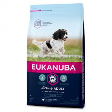 Eukanuba - Adult Medium Breed 12Kg