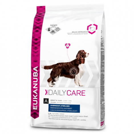 Eukanuba Daily Care Cão Adulto Overweight/Sterilised