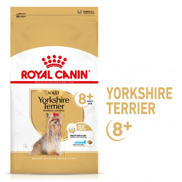 Royal Canin Yorkshire Terrier 8+ Cão Adulto