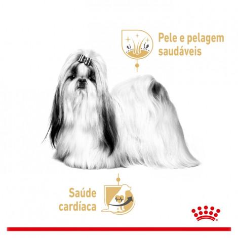 Royal Canin Shih Tzu Húmida Cão Adulto