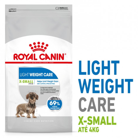 Royal Canin Light Weight Care X-Small Cão Adulto