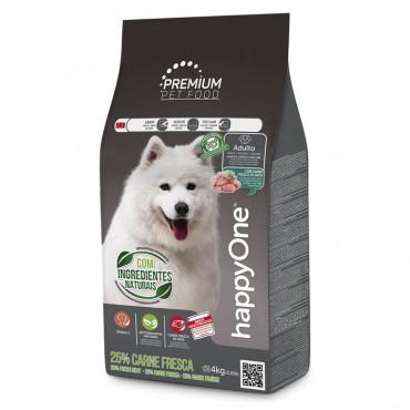happyOne Premium Cão Adulto - Carne fresca de aves