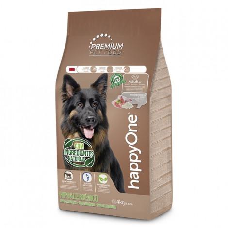 happyOne Premium Hipoalergénico Cão Adulto - Borrego e arroz