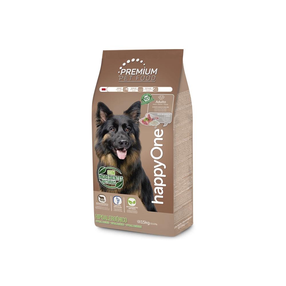 happyOne Premium Cão Adulto Hipoalergénico