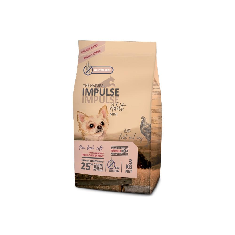 The Natural Impulse Cão Puppy - Frango