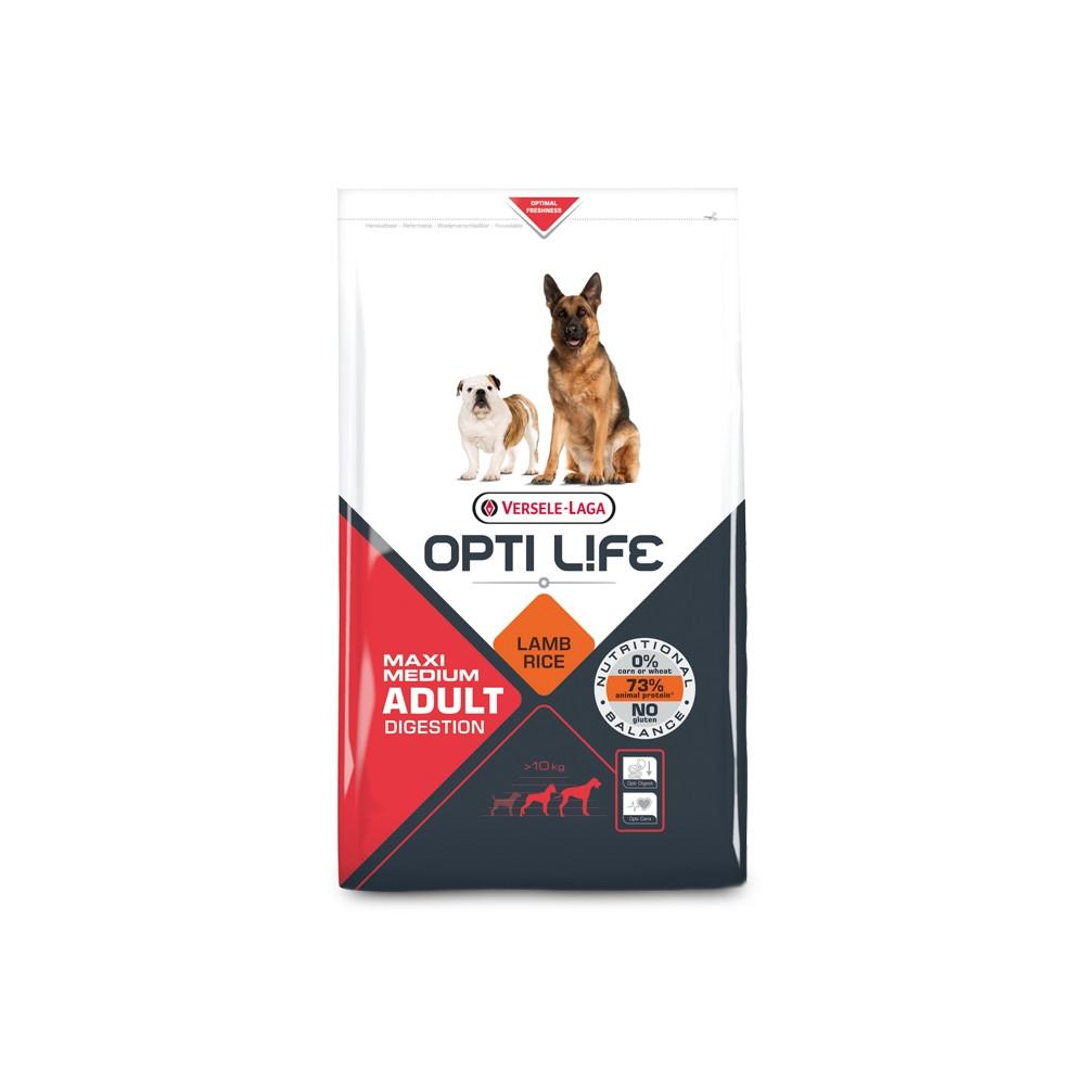 OPTI LIFE - Digestion Medium/Maxi 12.5Kg