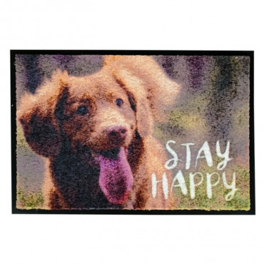 """Duvo + tapete """"Stay Happy"""""""