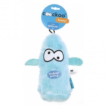Coockoo Boozy Brinquedo com garrafa para cão - Azul