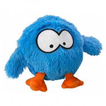 Coockoo Bouncy Bola saltitona de peluche para cão - Azul