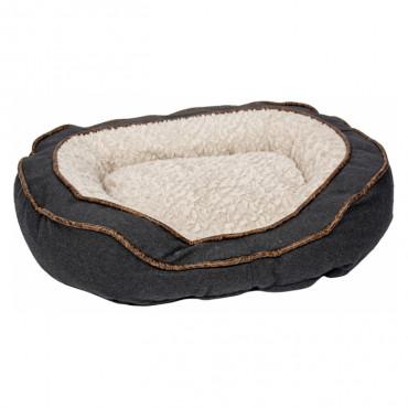 Duvo+ Cama oval de lã para cães