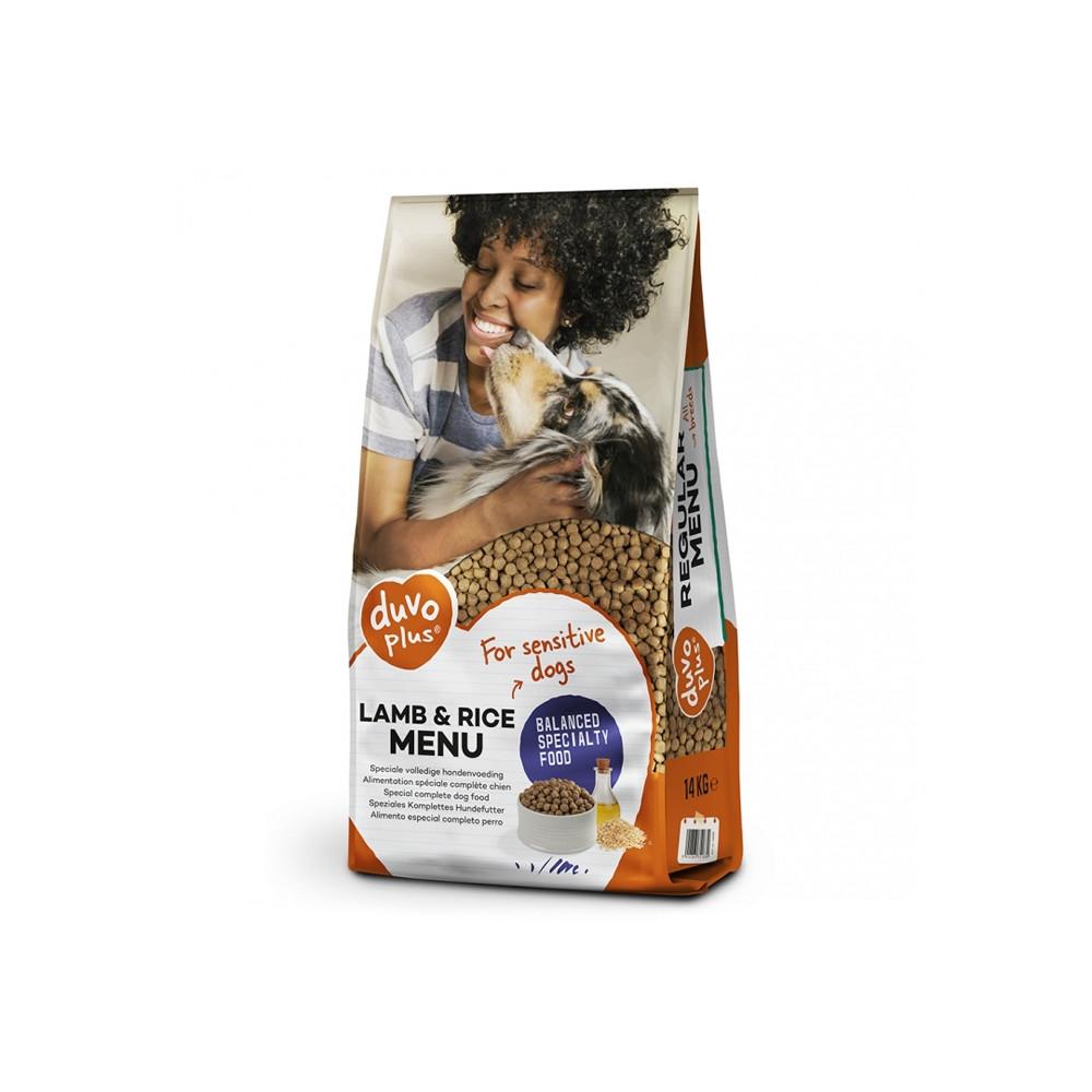 Duvo+ Alimento seco de cordeiro e arroz para cão adulto