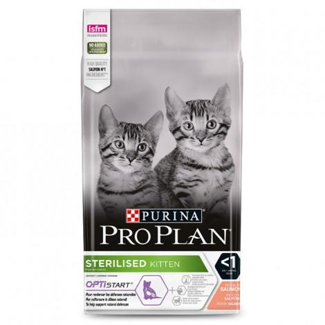 Pro Plan Sterilised Optistart Gato Kitten - Salmão
