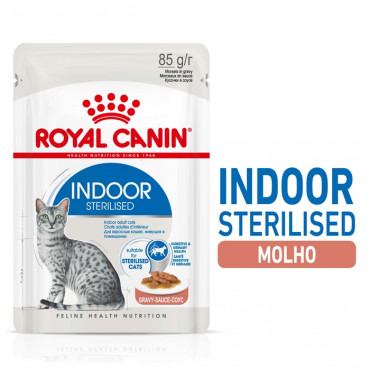 Royal Canin Indoor Gato Esterilizado - Em molho