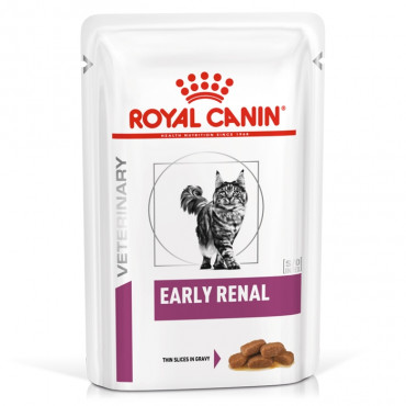 Royal Canin Early Renal Gato Adulto - Em molho