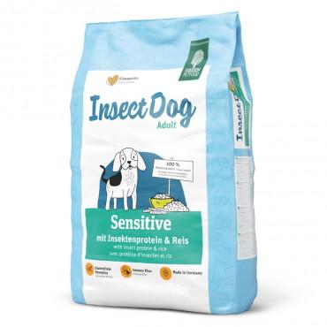 Green Petfood InsectDog Sensitive Cão Adulto - Inseto e arroz
