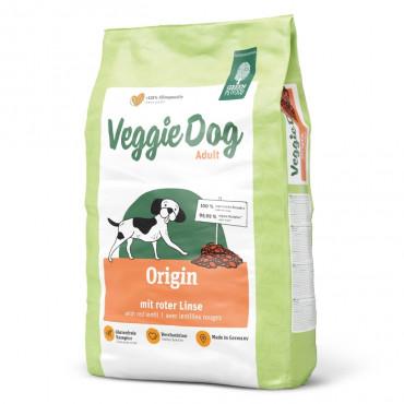 Green Petfood VeggieDog Origin Cão Adulto - Lentilha vermelha