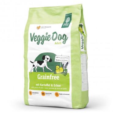 Green Petfood VeggieDog Grain free Cão Adulto - Batata e ervilha