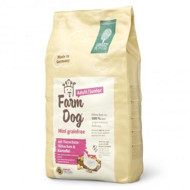 Green PetFood FarmDog Mini Grain free Cão Puppy/Adulto - Frango e batata