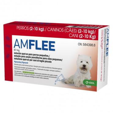 Pipetas para cão 2-10 kg Amflee