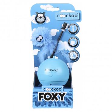 Coockoo Foxy Bola mágica para gato - Azul