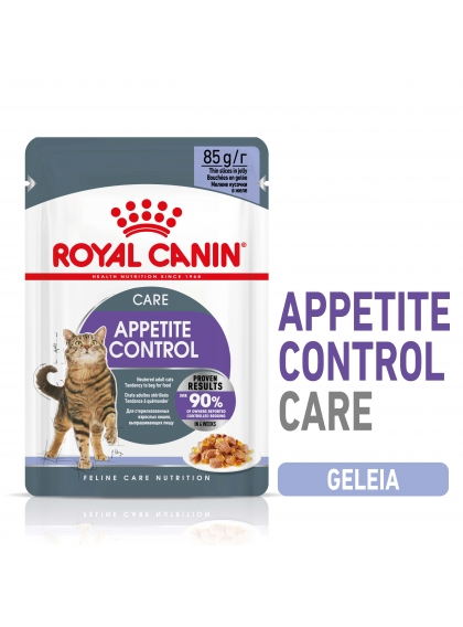 Royal Canin Appetite control sterilised Gato adulto - Em geleia