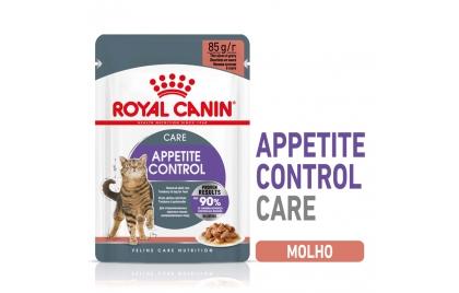 Royal Canin Appetite control sterilised Gato adulto - Em molho