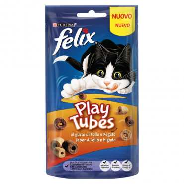Felix Play Tubes - Frango e fígado