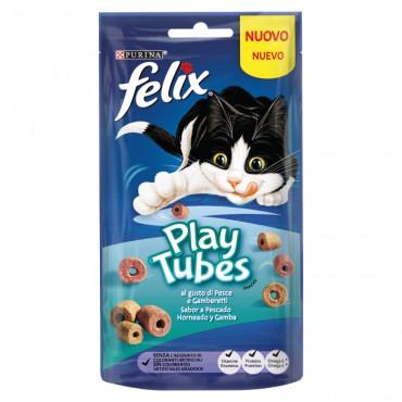 Felix Play Tubes - Peixe assado e camarão