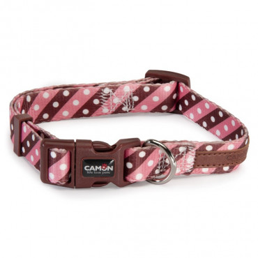 Camon Coleira Twill Dot Pink