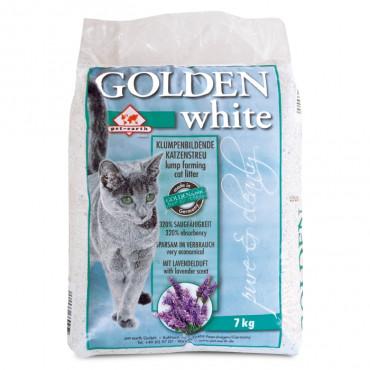 Golden Grey White Areia para gato