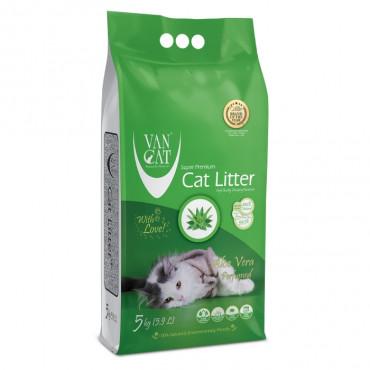 VanCat Areia de aloé vera para gato