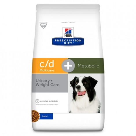 Hill's c/d Multicare + Metabolic Cão adulto