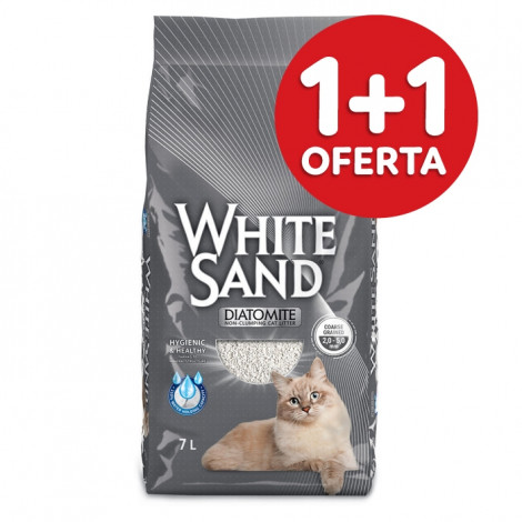 White Sand Areia para gato
