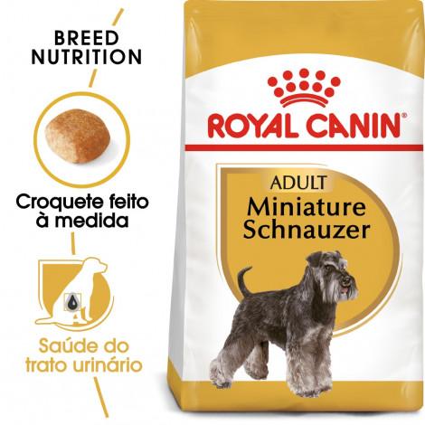 Royal Canin Schnauzer Miniatura Cão Adulto