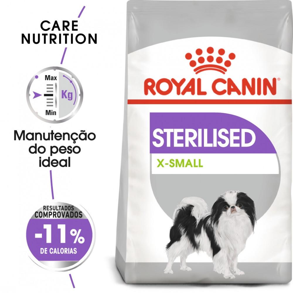 Royal Canin Sterilised Cão X-Small Adulto