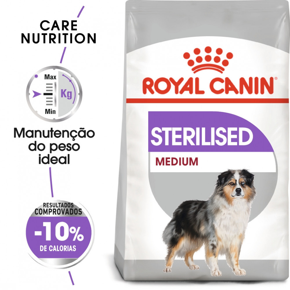 Royal Canin Sterilised Cão Medium Adulto