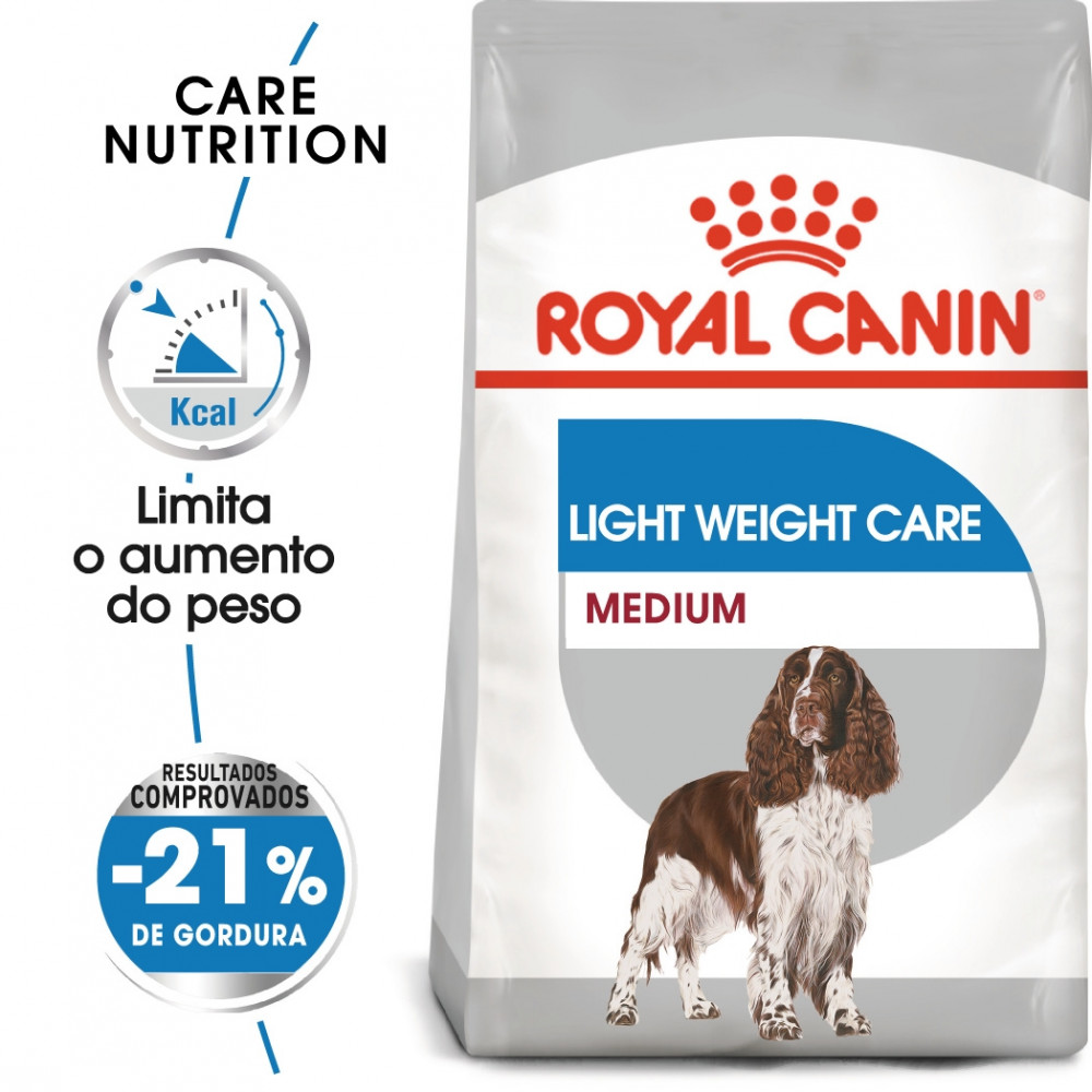 Royal Canin Light Weight Care Cão Medium Adulto