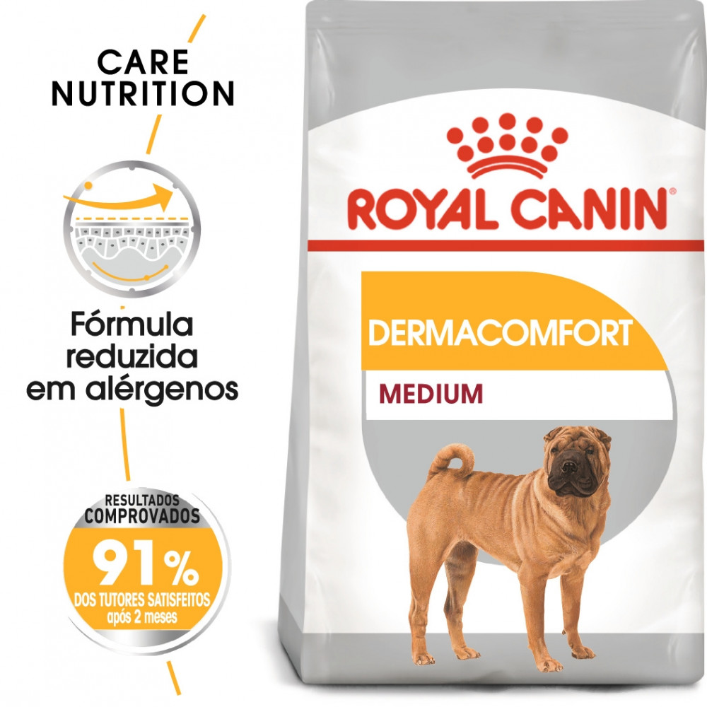 Ração para cão Royal Canin Medium Dermacomfort