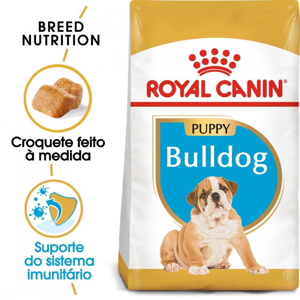 Royal Canin Bulldog Cão Puppy