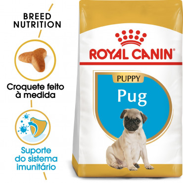 Royal Canin - Pug Puppy - Ração Seca Cão | Goldpet