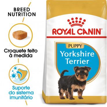 Royal Canin - Yorkshire Terrier Puppy - Ração de Cão   Goldpet