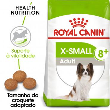 Royal Canin X-Small 8+ Cão adulto