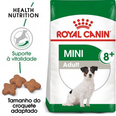 Royal Canin Mini 8+ Cão adulto
