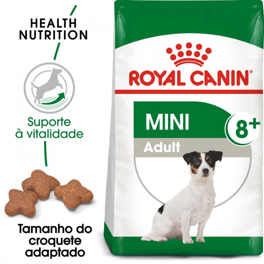 Royal Canin Mini Cão adulto 8+
