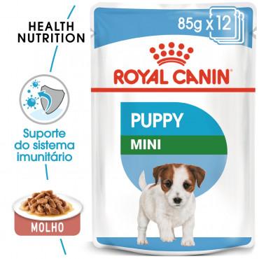 Royal Canin Cão Puppy Mini - Em molho