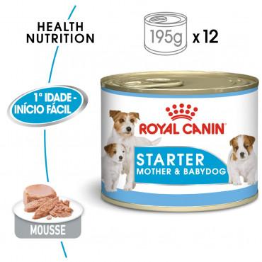 Ração para cão Royal Canin Mother & Babydog Starter Mousse Húmida