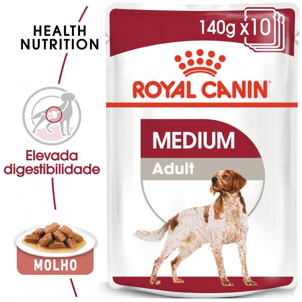 Royal Canin Medium Cão adulto - Em molho