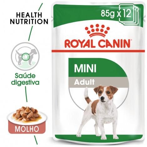 Royal Canin Mini Cão adulto - Em molho