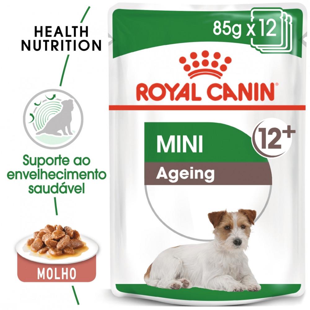 Royal Canin Mini 12+ Cão sénior - Em molho